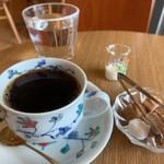 二三味珈琲 cafe - 二三味ブレンド 500円