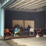 二三味珈琲 cafe - 冬は流石に外は寒いね