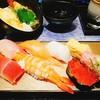 金沢まいもん寿司 - 料理写真:和楽ランチのお寿司7貫と玉子焼き