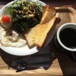 セイコー珈琲直営カフェ - 料理写真:トーストセット