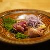 とぶ - 料理写真:薩摩地鶏と白レバー