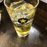 はなみち - 〇緑茶割り350円