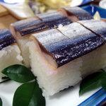 蔵ら - サンマ寿司(アップ)