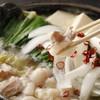 もつ鍋らく - 料理写真:もつ鍋えん(塩味)1380円