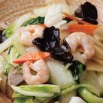 海鮮丼/エビ炒飯