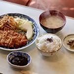 ミナミ - 料理写真:カツ定食