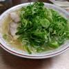 白龍 - 料理写真:大ラーメン+ネギ盛り