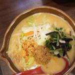 蔵deらーめん - 信州味噌野菜ラーメン@800