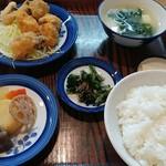 かかし - 昼の定食