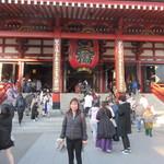 まぐろそば - 浅草寺