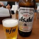 餃子の王将 - 瓶ビール(大)2019.1.30