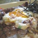NICE - 淡路牛と淡路玉葱のキーマー丼