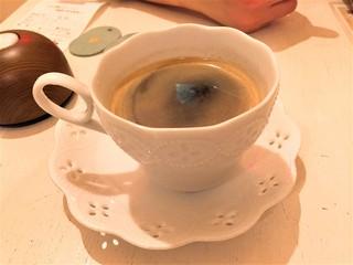 キャットカフェ てまりのおしろ - ブレンドコーヒー(セット価格350円)