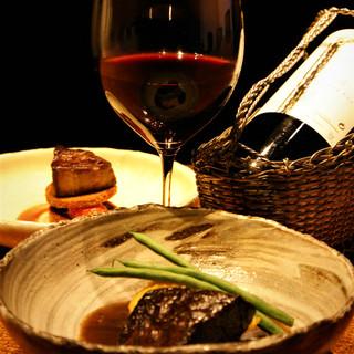 2月◆Wine&Dine(ワインと味わうお料理)