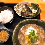 淀屋橋 うおじ - 肉吸い定食(800円)