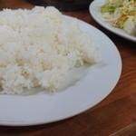 東洋軒 - ご飯大盛りは結構な盛りでした
