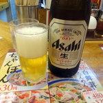 中華東秀 - ビール480円