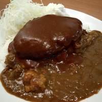 キッチン たか - 料理写真:バーグカレー