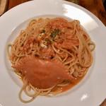 カプリカフェ - 渡り蟹のトマトクリーム