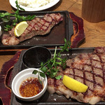 STEAK THE FIRST -