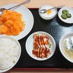 豊源 - エビマヨ定食