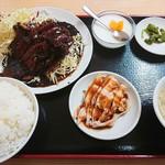 豊源 - コマ焼き定食