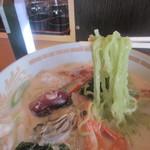 はしもとや - 日本海ミルクラーメン(麺)