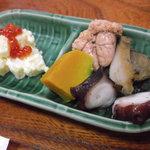 魚安 - 先付