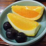 魚安 - まごころ懐石 フルーツ