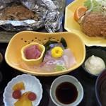 島作 - 本日のおすすめ定食1300円税込