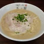 下松ラーメン 五ツ星 - ラーメン(中)(760円)