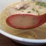 下松ラーメン 五ツ星 - スープ