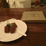 コンセール - 料理写真:山崎のチョコレート