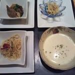 佳紋 - 前菜+スープ