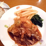 キッチンポワール - 料理写真:豚ロースのソティー