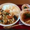 レストランドルフィン - 料理写真:中華丼の大盛