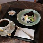 珈琲館 べるの木 - 料理写真: