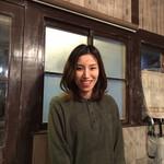 ワイン食堂 イタダキヤ - 女性スタッフに招かれました♬