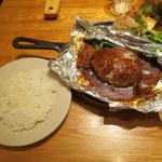 つばめグリル - つばめ風ハンブルグステーキ/ライス