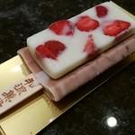 井村屋 和涼菓堂 - イチゴミルクのあずきバー