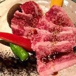 101157212 - 神戸牛カルビ&焼き野菜