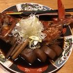 銀座 魚ばか - 超巨大キンメダイの煮つけ