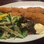 たなか寿司 - エビフライ定食