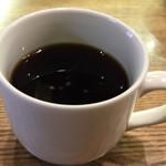 す吾六 - ランチにつくコーヒー。