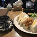 モンシェル トン トン - 今回は、ふわふわ玉子サンドのモーニングをいただきました!(2019.2.2)