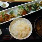 京・ちゃぶ屋ばるJo-Jo - 京の創作 おばんざい盛り合わせ膳