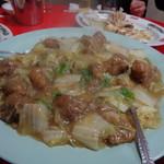 青葉 - 柚子白菜(骨付き肉入り)