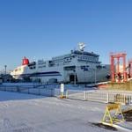 バルーン - [2018/12]シルバーフェリーの新造船「シルバーティアラ」。やはり、新造船はいいです。