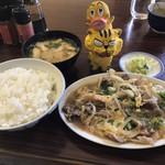 御食事処 美福 - 料理写真:牛玉煮定食700円(税込)