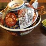 101164204 - 海老(4本)天丼 ¥1,950-(税込)